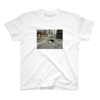 島猫遠近法 T-shirts