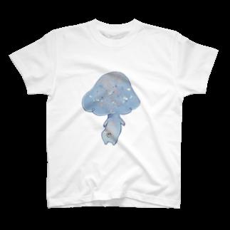 miesbyMIESのメルヘンきのこ(後) T-shirts