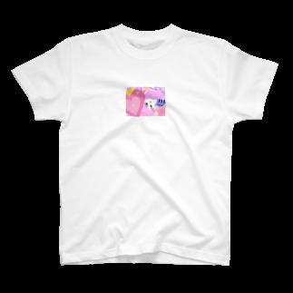 YUMINAHOのお店のセキセイインコのふく T-shirts