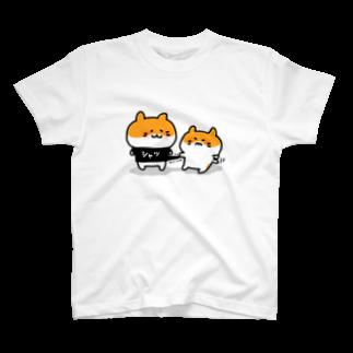 LINEスタンプ販売中ぱんのシャツくれ(カラー) T-shirts