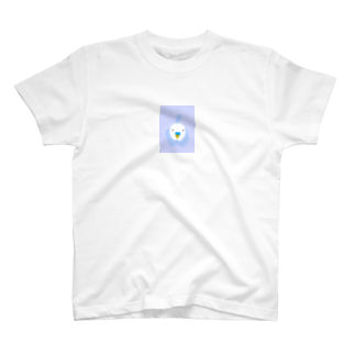 YUMINAHOのお店のセキセイインコ ピーちゃん T-shirts