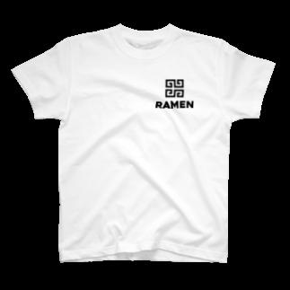 あひるんのRAMEN T-shirts