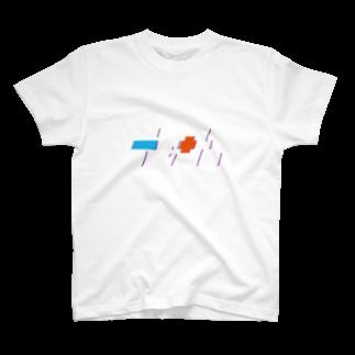 jinzoのTENNIS CIRCLE T-shirts