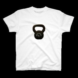 jiujitsuのケトルベルTシャツ T-shirts