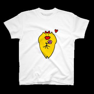 きいろいねこ屋さんのをとめ T-shirts