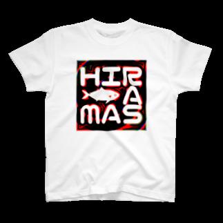 ヒラマサのヒラマサイケ T-shirts