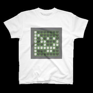さやえんどうのオセロねこ T-shirts
