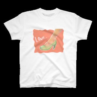 すぎんこの靴 T-shirts