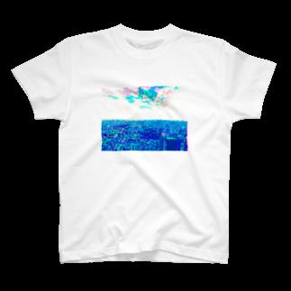 ごちゃごちゃの近未来的 T-shirts