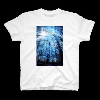 2641の海中世界 橋 T-shirts