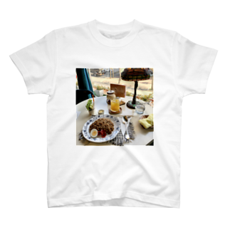 喫茶部活動報告のあの店のジャマイカンカレー T-shirts