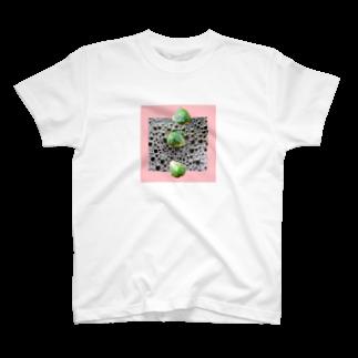 人生やり直しの泡とレタス T-shirts