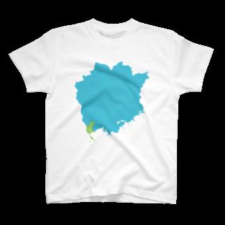 (・-・)のKASAOKA T-shirts