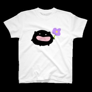 ダイナマイト87ねこ大商会の近所のくろちゃん T-shirts