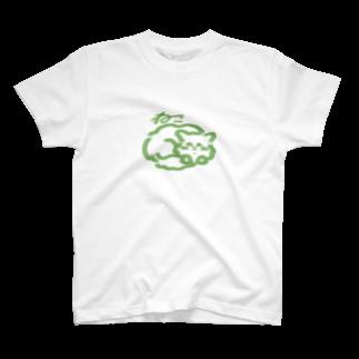yoonoonのねこねっこ T-shirts