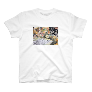 にしごりみずほの鳥鳥百鬼夜行 T-shirts