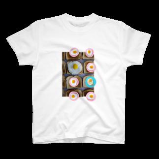 人生やり直しの目玉焼きとパン T-shirts