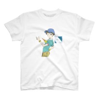 君はBoyFriend T-shirts