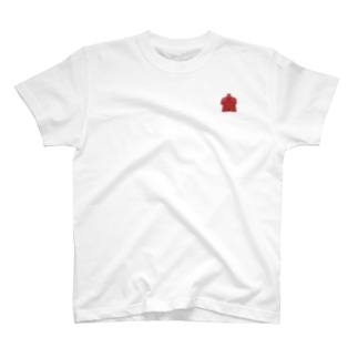リアルミープル ワンポイント T-shirts