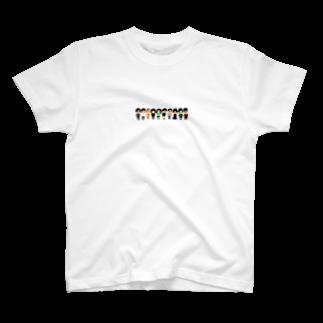 くまたにたゆゆきのりぼるべっと T-shirts