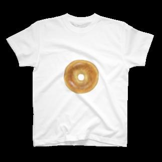 どんぶり ブラザーズ【ドンブラ】のベーグル T-shirts