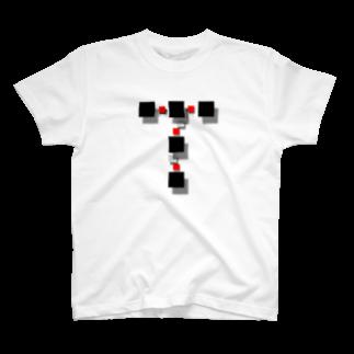 TAK-DesignのT-SQUARE Floating T-shirts