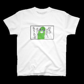 Hayate555のHayateの作品「胡瓜と誕生日」 T-shirts
