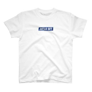 BREAK BOY 【T.B.T.R.】 T-shirts
