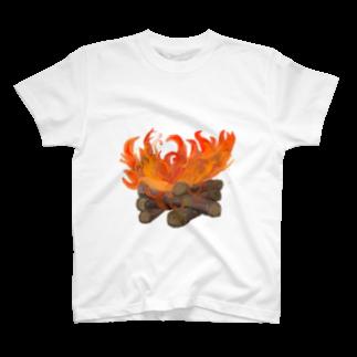 Kukulkanの炎 T-shirts