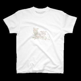 幻覚うりばのねずみ T-shirts
