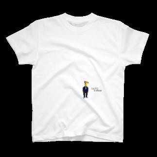 SATO12officialのキリンスーツ ロゴ T-shirts