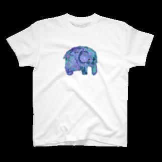 dagicyanの絵本の中のぞうさん T-shirts