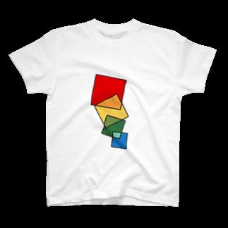 有野 シジミ@水生動物のColors:R To B T-shirts