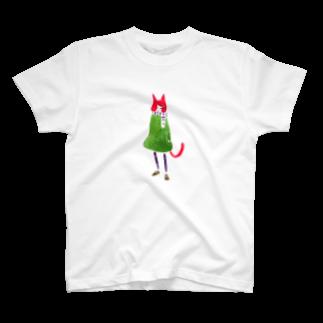 senbaku商店の冬の退屈ねこさん T-shirts