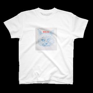 鸚哥館の殺処分0猫 T-shirts