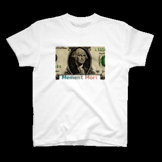 sa_monnano_のMement mori 2 T-shirts