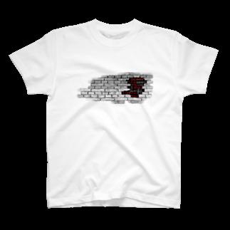 nanairo-factoryのブロックT T-shirts