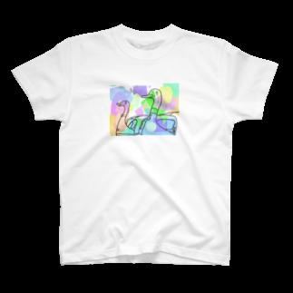 ltwincallのカラフル T-shirts