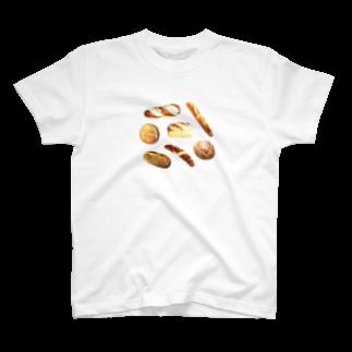 フラミンゴ洋裁店のパン T-shirts