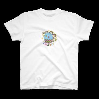 Lufasの疫病退散アマビエ様 T-shirts
