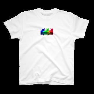 krmfrnの三匹のむぎ T-shirts