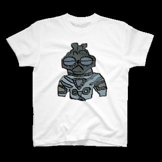 アメリカンベースの土偶 T-shirts