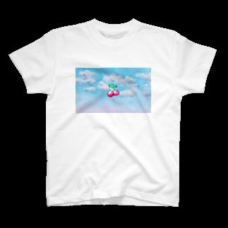 mezzo_fのcherry T-shirts