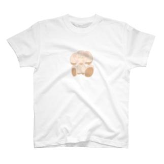 わん子のぬいぐるみさん T-shirts