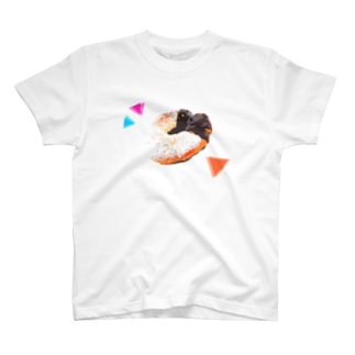 YukiMihashiのかわいく自己主張するドーナツ T-shirts