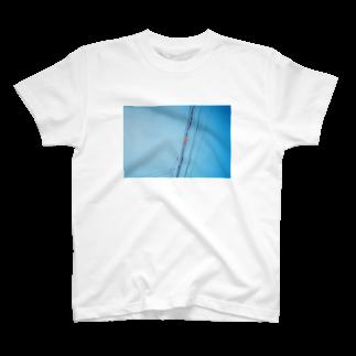 film:のfilm:電線 T-shirts