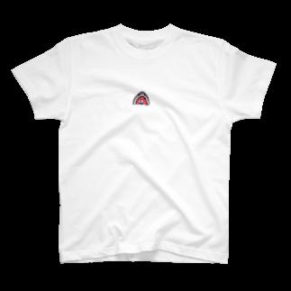 はむこストアのサメコちゃん(うさぎ入り) T-shirts