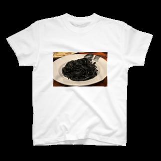Navy-boyのいかすみパスタ T-shirts