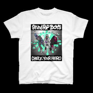 JOSTARDWのgp-Check Your Hero T-shirts