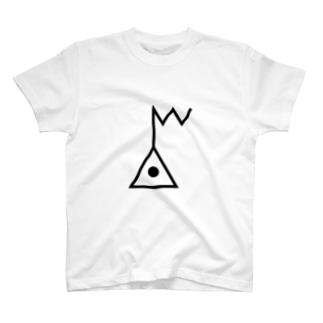 地図記号シリーズ【電子基準点】 T-shirts